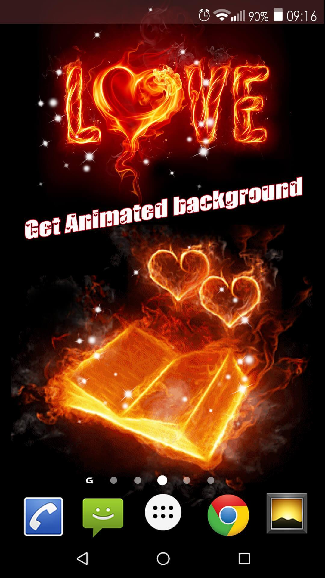 Android 用の 愛gif ロマンチックな壁紙 Apk をダウンロード