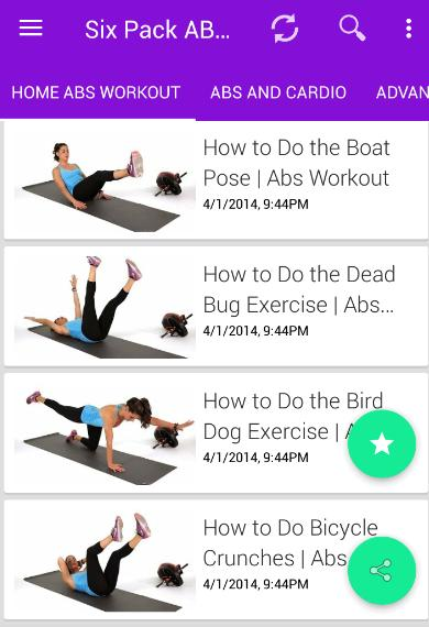 Six Pack Abs For Women Fitness Exercise For Girls For Android Apk Download