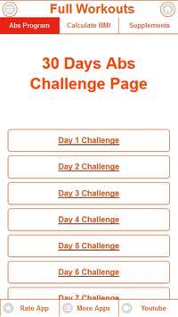 Home Ab Challenge screenshot 2