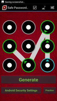 Safe Password Maker Pro - Secure your Device apk screenshot