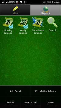 Pocket Expense Manager And Tracker screenshot 7