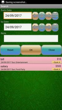 Pocket Expense Manager And Tracker screenshot 8