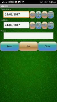 Pocket Expense Manager And Tracker screenshot 9