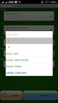 Pocket Expense Manager And Tracker screenshot 2