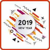 Happy New Year Wishes Greetings Cards 2019 icon