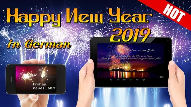 Happy New Year Wishes Greetings Cards 2019 screenshot 1