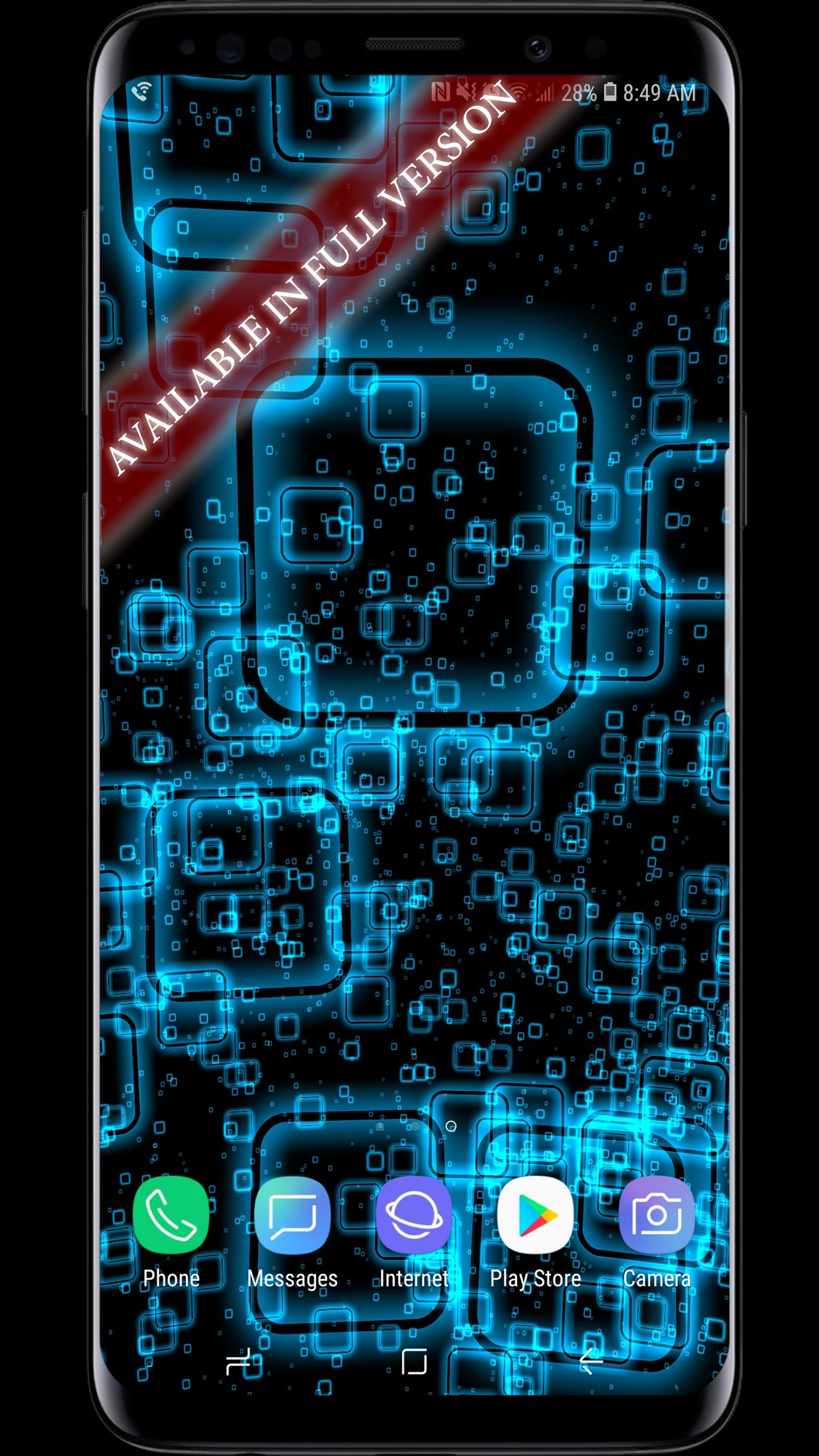 Squares Parallax 3D Live Wallpaper for Android - APK Download