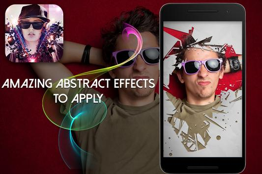 Abstract Overlay Photo Effect poster