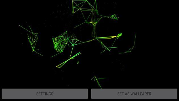 Abstract Plexus II 3D Live Wallpaper screenshot 17