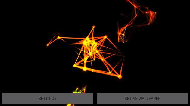 Abstract Plexus II 3D Live Wallpaper screenshot 11