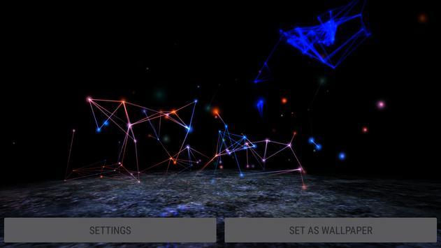 Abstract Plexus II 3D Live Wallpaper apk screenshot