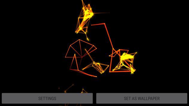 Abstract Plexus II 3D Live Wallpaper screenshot 23