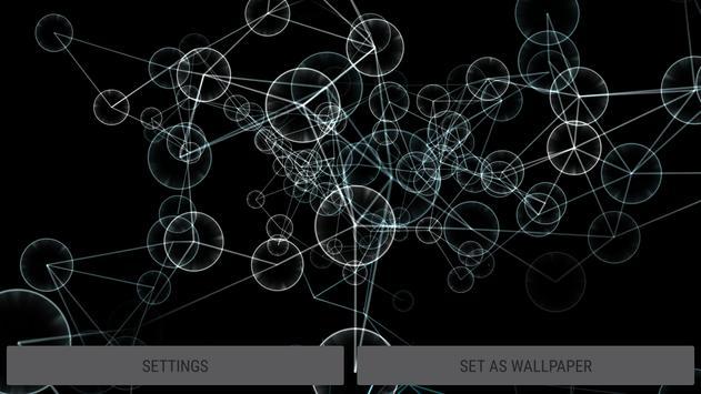 Abstract Plexus II 3D Live Wallpaper screenshot 8