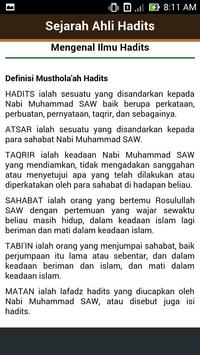 Biografi Ahlul Hadits apk screenshot
