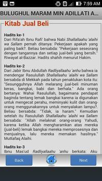 Kitab Bulughul Maram screenshot 1