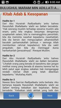 Kitab Bulughul Maram screenshot 3