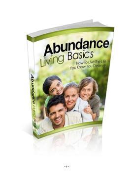 Abundance Living Basics poster