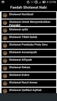 Fadhilah Sholawat Nabi screenshot 1