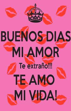 Buenos Dias Amor Imagenes poster