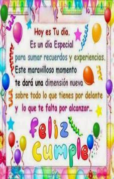 Feliz Cumpleaños con Nombre poster