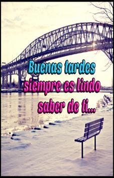 Frases de Buenas Tardes con Imagen poster