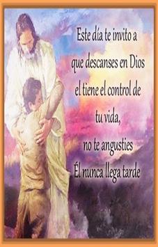 Huella de Dios Mensajes poster