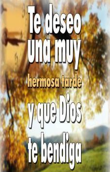 Imagenes y Frases de Buenas Tardes apk screenshot