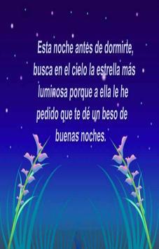 Mensajes de Buenas Noches poster