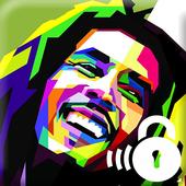 Bob Marley Losk icon