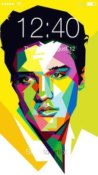 Elvis Presley Lock poster