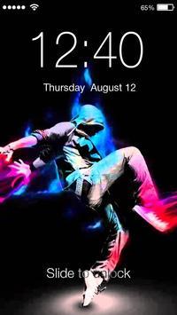 Hip Hop  HD Lock poster