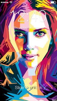 Scarlet Johansson Lock poster