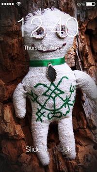 Wood Doll Lock poster