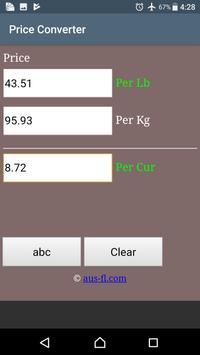 Price Converter screenshot 1
