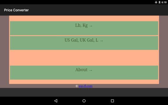 Price Converter apk screenshot