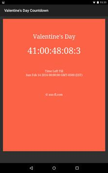 Valentine's Day Countdown apk screenshot