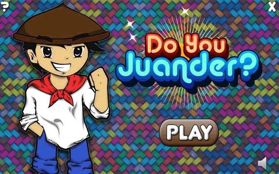 Do you Juander ? poster
