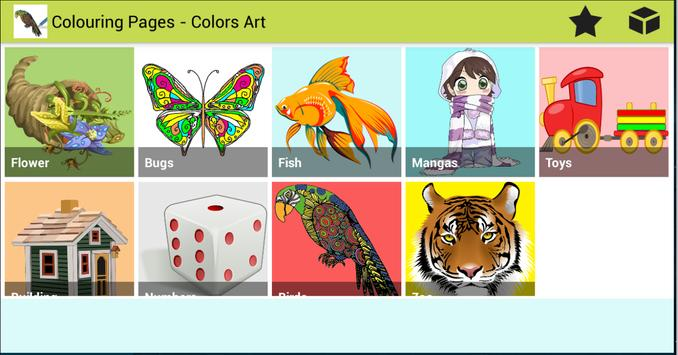 Colouring Pages - Colors's Art poster