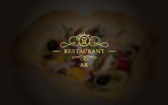 Restaurant AR poster