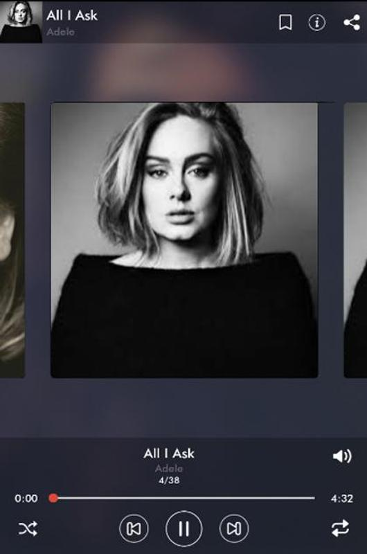 adele someone like you live in her home mp3