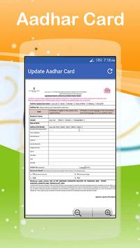 Aadhar Services In Mobile Free Aadhar Card Seva poster