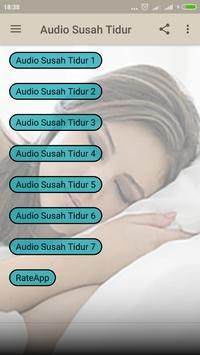 Audio Susah Tidur poster