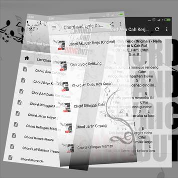 Chord and Lyric Dangdut screenshot 1