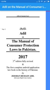 Consumer Laws in Pakistan Adil poster