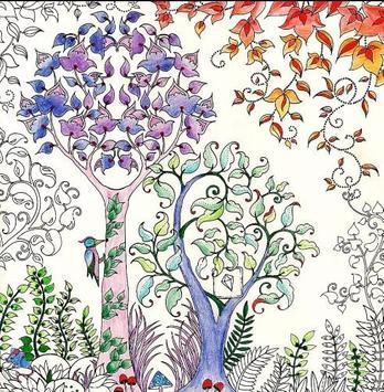Adult Coloring Books apk screenshot