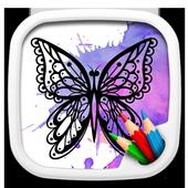 Kupu Kupu Mewarnai Buku For Android Apk Download