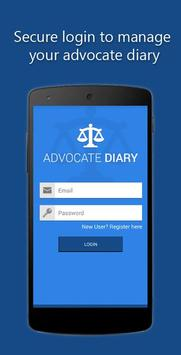 Advocate Diary poster