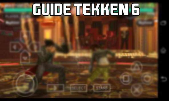 Guide tekken 6 apk screenshot