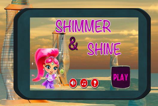 Adventure shimmer for shine poster