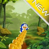 Subway Doraemon Jungle Race icon
